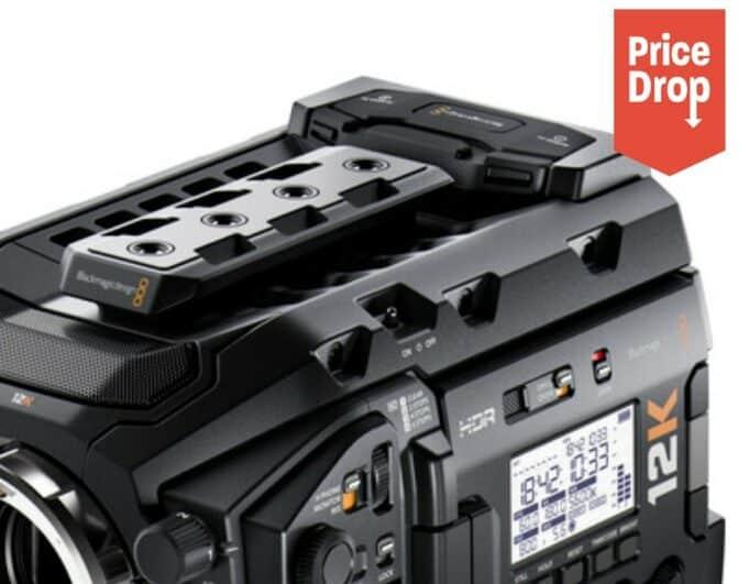 Blackmagic URSA Mini Pro 12K price drop
