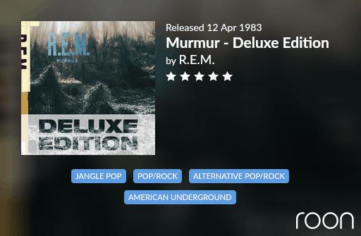 Murmur Allmusic Review 1983 REM revisited
