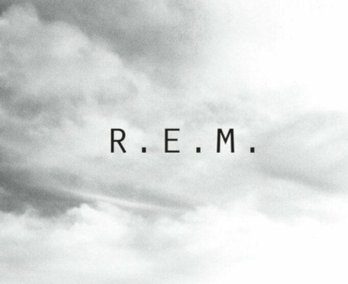 R.E.M. New Adventures In Hi-Fi - Graphic Design and Logo