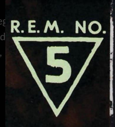 R.E.M. No. 5 - Graphic Design and Logo
