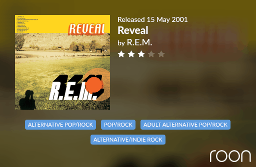 Reveal Allmusic Review 2001 REM revisited