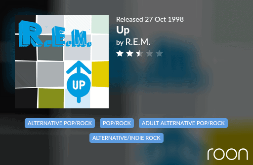 Up Allmusic Review 1998 REM revisited