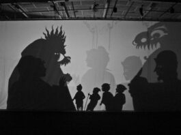A Traditional Balinese Shadow Play featuring Larry Reed - San Francisco