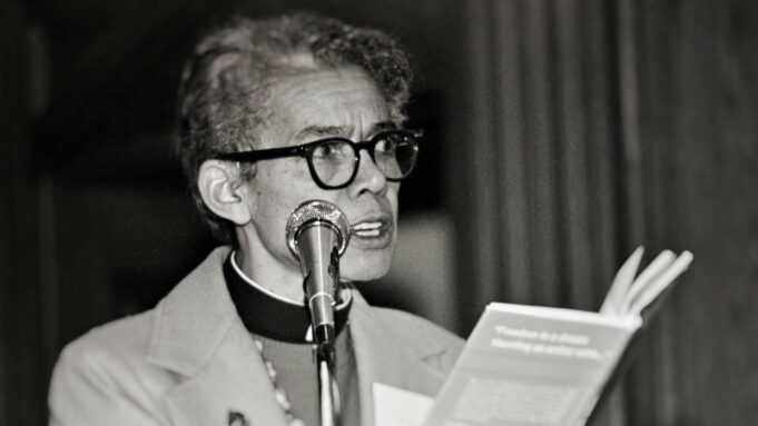 Pauli Murray in Betsy West and Julie Cohen's documentary 'My Name Is Pauli Murray.' Credit: Amazon Studios.