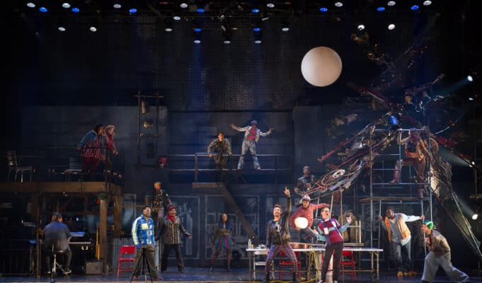 The Company of the RENT 25th Anniversary Farewell Tour