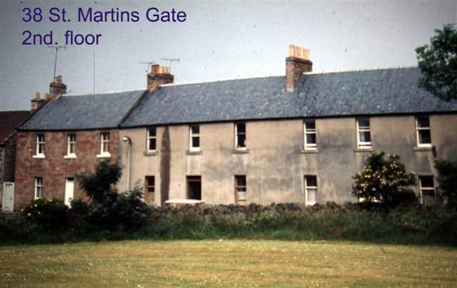 38 St. Martin's Gate - 2nd Floor - Sean Connery - Lost Haddington